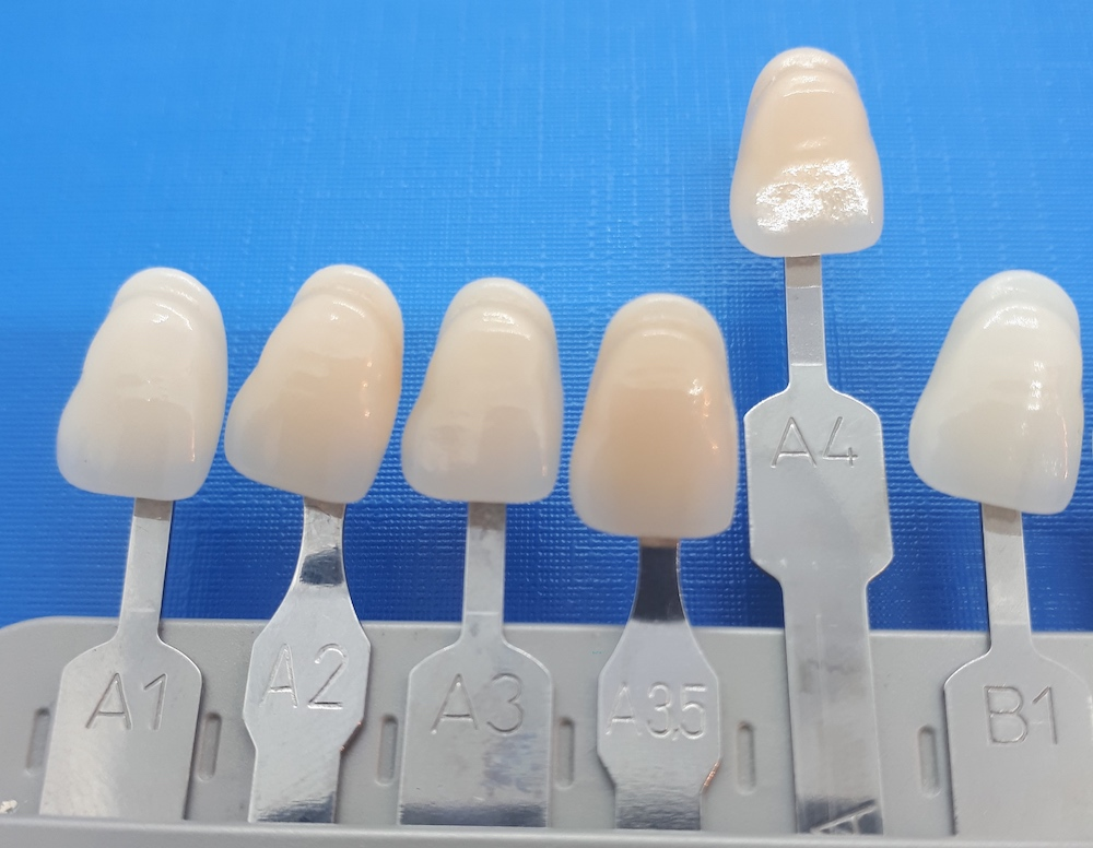 A1 zahnfarben Brennofen sowie